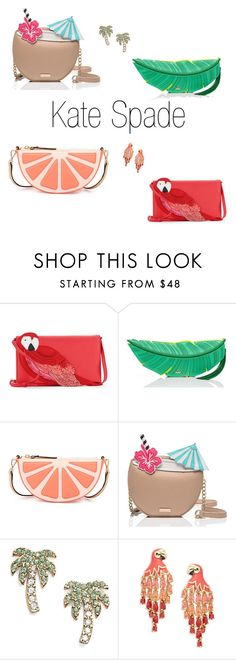 """Kate Spade"" by danyag1211 ❤ liked on Polyvore featuring Kate Spade"
