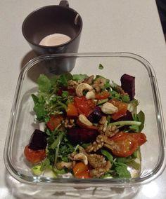Treinos Culinários: Salada de Agrião com Tomate e Beterraba Assados