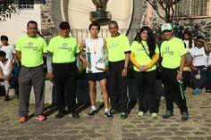 En la rama varonil, Ricardo Acosta ganó la Cuarta #CarreraAtlética #BecaSalario #P01Cuernavaca #Cobaem_Morelos #juventudcultayproductiva