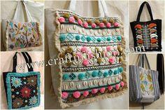 Exclusive Indian Handicrafts & Handmade Textiles by Indianbohoshop Kutch Work, Fringe Fashion, Hand Work Embroidery, Designer Clutch, Ibiza Fashion, Fringe Bags, Work Bags, Purse Styles, Clutch Purse