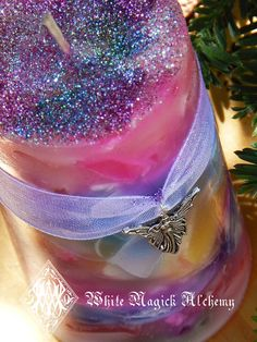Faerie Worlds Ambrosia Candle 2x3