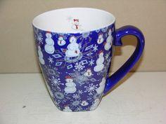 A Starbucks Barista mug with a winter theme