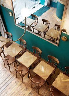 """Conception du bar """"Le Narcisse"""" à Nantes par Rodéo Basilic - Journal du Design"""