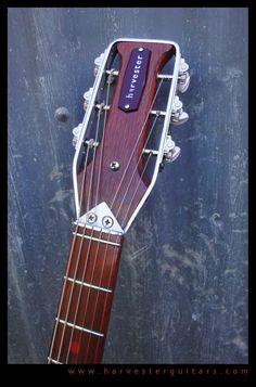 Harvester Guitars #47 headstock