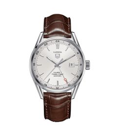 2700e TAG Heuer Carrera Calibre 7 Twin Time Montre automatique 100 M - 41 mm WAR2011.FC6291 Prix des montres TAG Heuer