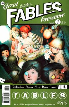 Fables #85 - The Great Fables Crossover, Part 7 of 9: A Pair of Jacks (Issue)