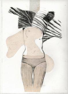 Mise à nue n°1, gravure // Lidia Kostanek Roman Photo, Rita, Art Graphique, Sculpture, Collages, Drawings, Artwork, Artist, Photos