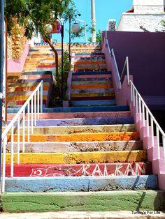 Rainbow Steps, #Kalkan