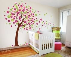 This Etsy seller has tons of different vinyl wall decals for kids' rooms. They're all pretty sweet.