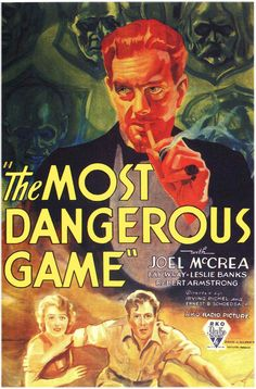 The Most Dangerous Game (1932) - Joel McCrea, Fay Wray, Leslie Banks, Noble Johnson
