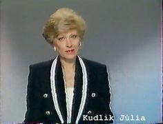 Kudlik Júlia bemondónő a évekből - a Delta című műsorban is bemondó volt Tv On The Radio, Childhood Memories, Famous People, Sport, Google, Fashion, Moda, Deporte, Fashion Styles