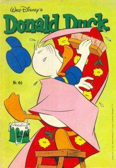 Cover for Donald Duck (Oberon, 1972 series) Donald Duck Characters, Cover, Walt Disney, Dutch, Comic Books, Cartoon, Comics, Dutch People, Dutch Language