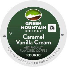 green mountain coffee caramel vanilla cream nutritional information