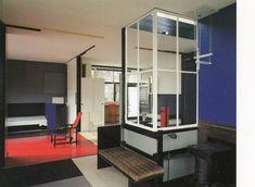 The Rietveld Schröder House in Utrecht was commissioned by Ms Truus Schröder-Schräder, designed by the architect Gerrit Thomas Rietveld, and. Schroder House, Willemstad, Arch Model, Constructivism, Bauhaus, Art And Architecture, Contemporary, Modern, Netherlands