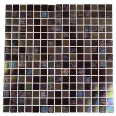 Splashback Tile Rainbow Fish 12 in. x 12 in. x 8 mm Glass Floor and Wall Tile (1 sq. ft.)-RAINBOW FISH GLASS TILE at The Home Depot