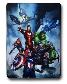 Avengers Ominous Loki Fleece Throw Blanket