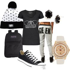 Skater Chick by aubreylyn7 on Polyvore