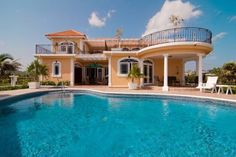 Hotel Luxury Villa On the Sea - Caribbean Islands #HotelDirect info: HotelDirect.com