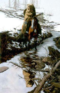 Bev Doolittle  Spirit of the Grizzley