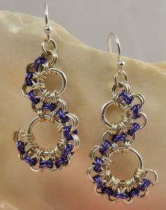 chain maille necklace patterns - Google Search