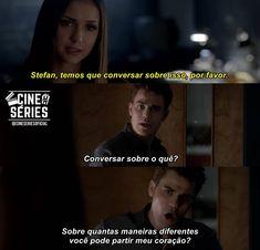 📺SÉRIE: The Vampire Diaries Stefan E Elena, Teen Wolf Scott, I Series, Memes, Vampire Diaries The Originals, Cinema, Pll, Vampires, My Love