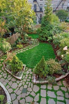 Brooklyn Townhouse Garden