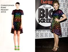 I could never pull it off, but I love everything about Chloe Moretz's look here