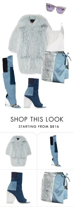 """""""Fuk u lookin at"""" by astrro ❤ liked on Polyvore featuring Helen Yarmak, Off-White and Missoni"""