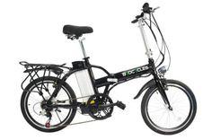 Byocycle City Speed 6 Speed Folding Electric Bike Bicycle 20″ Wheels Black