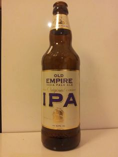 Old Empire IPA from Marston's Brewery