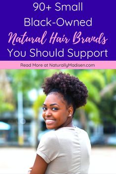 90  Small Black Owned Natural Hair Brands You Should Support | Black owned natural hair brands, Black owned beauty brands, Black owned businesses to support, Black owned natural hair products, Black owned natural hair care, Black owned beauty products, Black owned hair care products, Buy black owned, Natural hair products, Natural hair brands | #blackownedbusiness #blackowned #blackhaircare #supportblackbusiness #naturalhairproducts Natural Hair Growth Tips, Natural Hair Regimen, How To Grow Natural Hair, Grow Long Hair, Natural Haircare, Natural Beauty Tips, Natural Hair Styles, Hair Products, Beauty Products