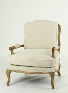 Arm Chair With Natural Oak Wood Finish - French Style Chairs, French Country Style, Office Furniture, Painted Furniture, French Country Furniture, Antique Market, Commercial Furniture, Wholesale Furniture, Salvaged Wood