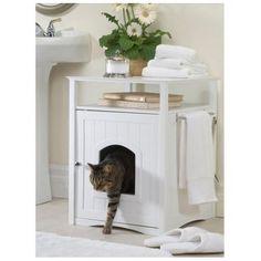Closed Cat Litter Box Enclosed Large Kitty Bathroom Pet L... http://www.amazon.com/dp/B00UNLI67U/ref=cm_sw_r_pi_dp_zXroxb1S8B57G