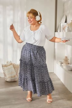 Maite Kelly, Mein Style, Curvy Fashion, Midi Skirt, Skirts, Women, Summer, Love, Woman