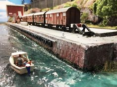 A hot summer day in the harbour | Model Railroad Hobbyist magazine | Having fun with model trains | Instant access to model railway resources without barriers