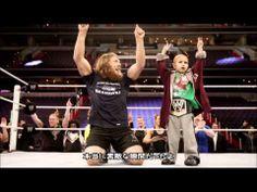 WWEから「コナー・ザ・クラッシャー」へ捧ぐ5分19秒のプレゼント - YouTube