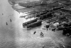 Luchtfoto Rotterdam (jaartal: 1930 tot 1940) - Foto's SERC