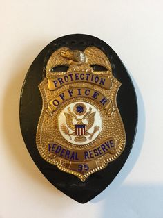 Federal Reserve Protection Officer