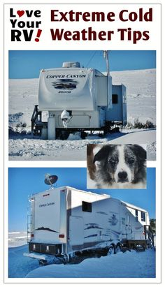 RVers generally are an inventive and self-reliant bunch. Somehow though even with the cold weather limitations of most RVs many hardy, ingenious folks find ways to do it anyway. Below you'll find some of the best tips and tricks I've come across for cold weather RVing. http://www.loveyourrv.com/tips-tricks-cold-weather-rving/ #RV #Tips