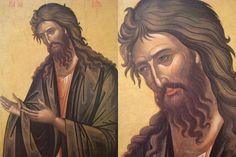 Best Icons, Byzantine Art, John The Baptist, Art Icon, Orthodox Icons, Saints, Painting, Painting Art, Paintings
