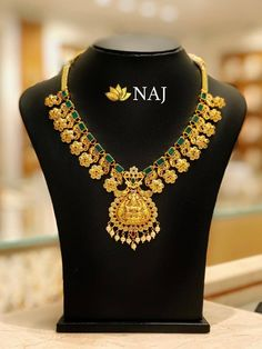 Enjoy this BIG SALE...Only @ NAJ NO WASTAGE* - NO MAKING - NO STONE COST Call or WhatsApp @ 9032041323 or email to mynaj@najindia.com... Available Only @ Naj Jewellery, Nellore.#TANAUSA, #TeluguUSA Diy Necklace, Necklace Designs, Pendant Necklace, Bridal Jewelry, Gold Jewelry, Gold Necklaces, India Jewelry, Jewellery, 11. September