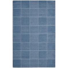 Nourison Textured Squares Wool Rug - Walmart.com