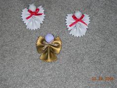 Noodle Angel Christmas Ornament
