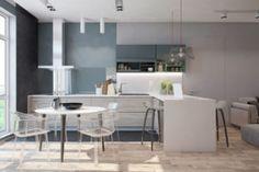 Loft interior design (photo)