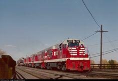 RailPictures.Net Photo: 100 Chicago, Burlington and Quincy Railroad GE U25B at Denver, Colorado by Bill Marvel