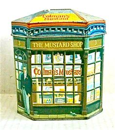 Colemans Mustard Shop - ian-logan-design-tins