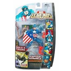Marvel Legends Marvel Heroes Series 3 Hasbro Brood Queen Series Captain America Action Figure by Hasbro *** Click image to review more details.
