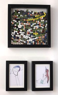 What ways do you display your child's Beads of Courage. This way looks pretty darn good! #mefine