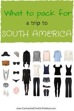 Everything that is in my bag for a backpacking trip to South America, including trekking gear.