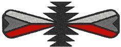 Machine Embroidery Design: Native American Tribal Symbol 13